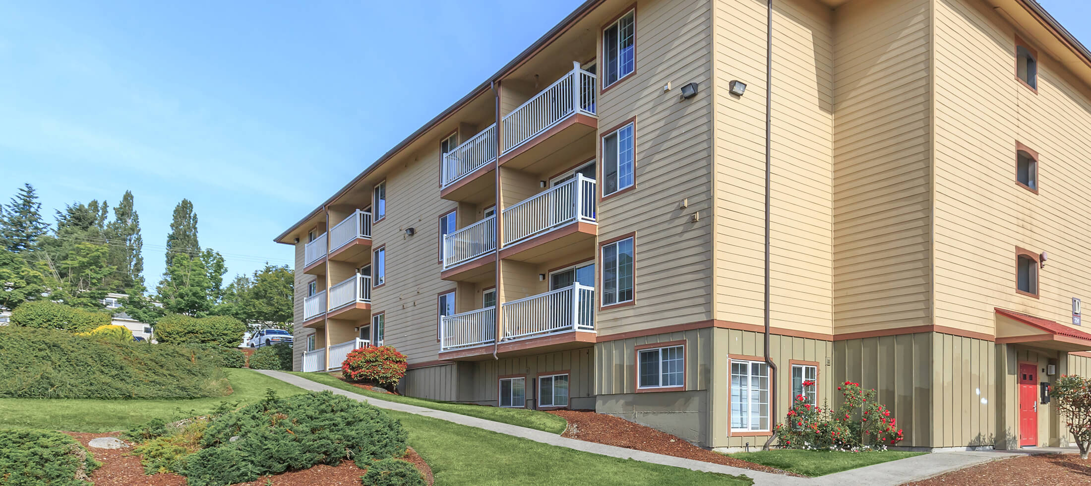 Villa Capri Apartments In Federal Way Wa
